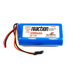 LiIon 7,4v 3200mAh Rx Pack