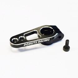 25T Aluminium servo horn Black