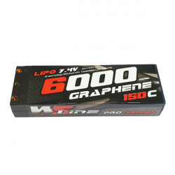 Lipo WSLine 6000mAh 7,4v Graphène 150C