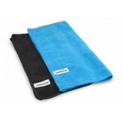 Microfiber towel- Blue/Black (2)