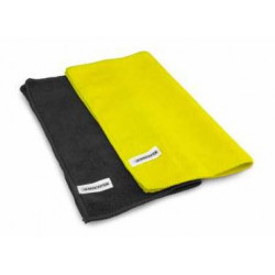 Microfiber pit towel Black-Yellow (2)