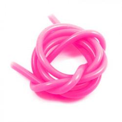 SUPERFLEX Silicone tubing Neon Pink (1m)