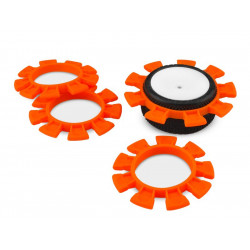 Satellite Tire Rubber Bands Orange (4pcs)