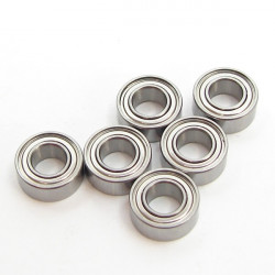 Competition 5x10x4mm Ball Bearing( Metal Case)(6PC)