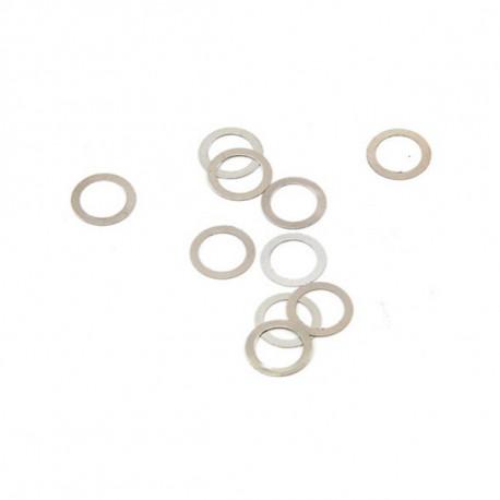 Rondelles de cloche 5x7x0.1mm (10)
