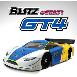 BLITZ GT4 Body with wing (1mm)