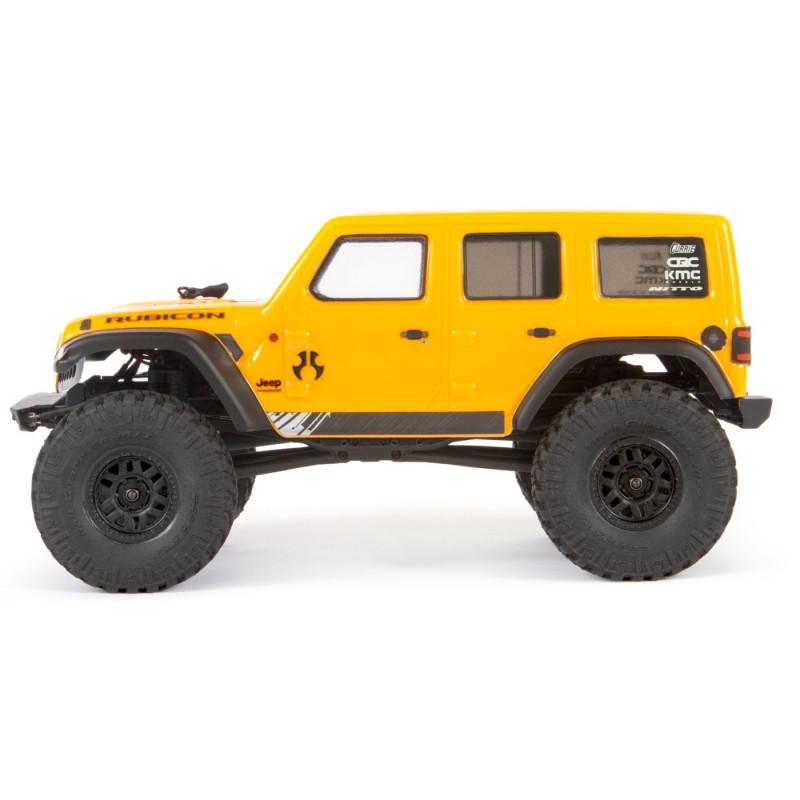 1/24 SCX24 2019 Jeep Wrangler RTR Jaune (AXI00002T2